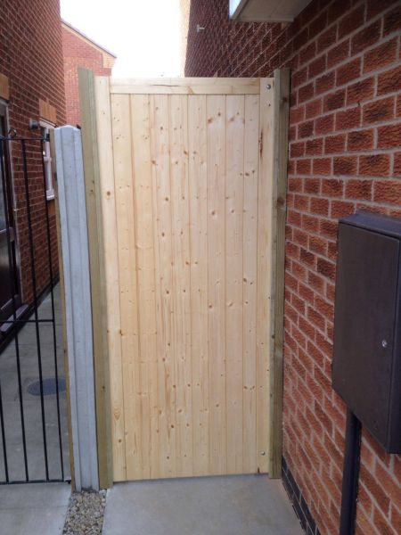 New garden gate fitted for customer, keep your property secure: Swipe To View More Images