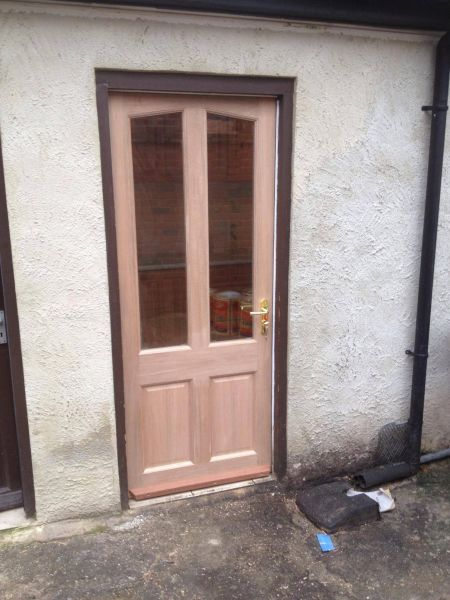 New door that we fitted after a police raid: Swipe To View More Images