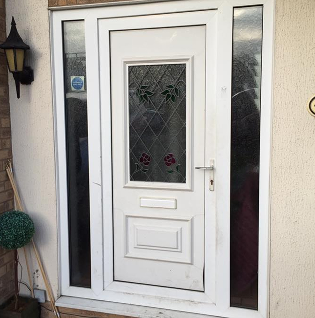 Domestic door repair